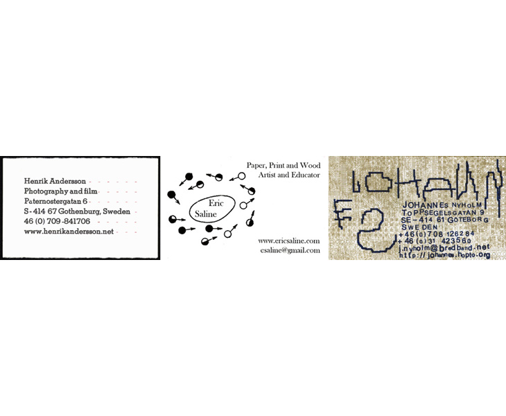 Business Cards, 2007